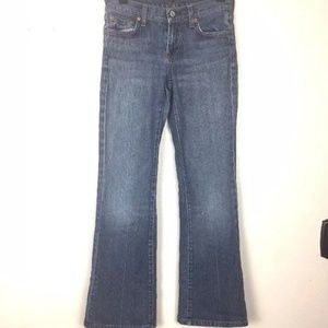 7 For All Mankind Denim Jeans Womens Size 25 Flare